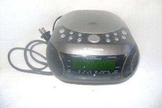 Used Emerson Stereo CD Clock Radio CKD 9901 Am FM