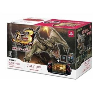 New Monster Hunter 3rd Black Red PSP 3000 Bundle