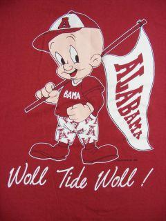ELMER FUDD Alabama BAMA Crimson WOLL TIDE WOLL Warner Brothers