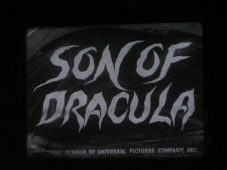 16mm Film 43 Son of Dracula Lon Chaney