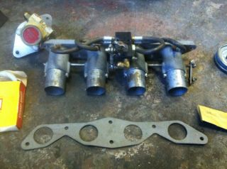 Sprint car hilborn fuel injection Eggers Vetting ITB throttle bodies