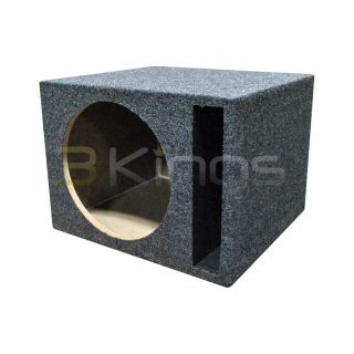 NEW Q POWER QSBASS12 EMPTY SUBWOOFER SUB BOX (1) 12 SLOT PORTED