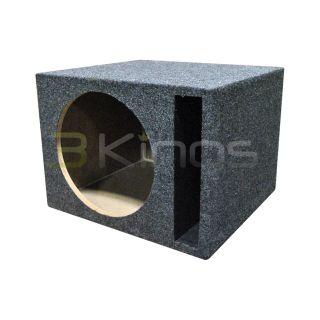 NEW Q POWER QSBASS12 EMPTY SUBWOOFER SUB BOX (1) 12 SLOT PORTED