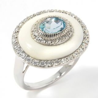 zircon sterling silver oval ring note customer pick rating 14 $ 41 97
