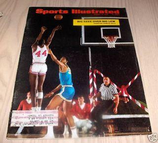 1968 Kareem Abdul Jabbar Elvin Hayes SI Magazine