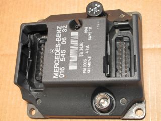 Mercedes C Class W202 ECU Engine Control Unit 0165450632 A0165450632