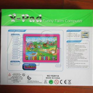 Toy Children English Learner Computer Y pad English Learning Machine