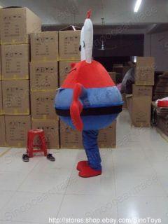 Eugene H Krabs Crab Mascot Costume Fancy Dress EPE