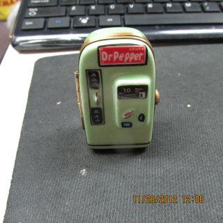 RARE Limoges Peint Main Eximious Dr. Pepper Pop Machine TRINKET BOX