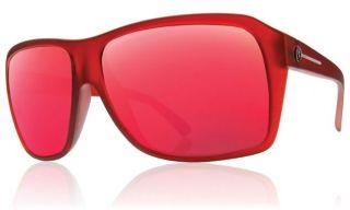 Electric Capt Ahab Sunglasses Plasma Chrome Red Mirror New ES09941963