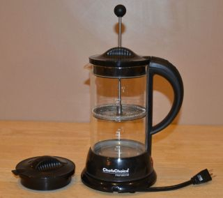 Choice Electric Hot Water Kettle Heater French Coffee Press Pot