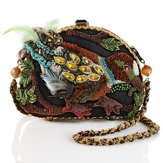 Mary Frances Beaded Bird Evening Bag
