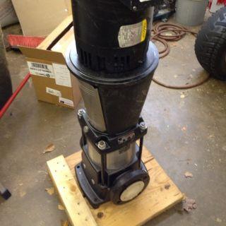 Baldor Grundfos Electric 15HP 230 PSI Irrigation Pump 250 Max