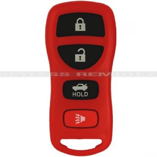NEW RED NISSAN INFINITI KEYLESS ENTRY REMOTE KEY FOB + FREE