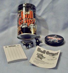 Bull Riders Bull Craps Dice Game Cowboy Rodeo Endless Games 425