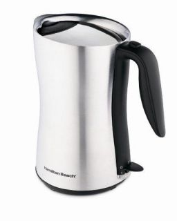 Hamilton Beach 40898 Cool Touch Cordless 8 Cup Electric Kettle