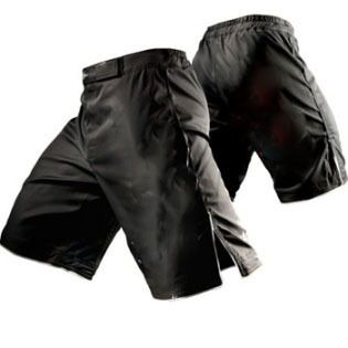 Blank MMA Shorts High Quality Stretch Panels