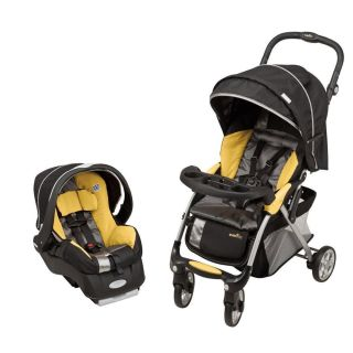 Evenflo FeatherLite 400 Travel System Stroller Car Seat Baby Safety