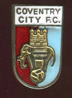 England Football Soccer RARE Enamel Pin Coventry City
