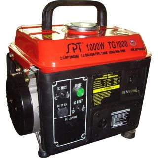 1000 Watt Gasoline Power Generator Powered Portable Gas w Carb