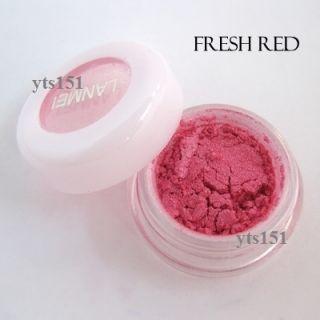 eye shadow powder makeup pigment mineral eyeshadow Fresh Red B011