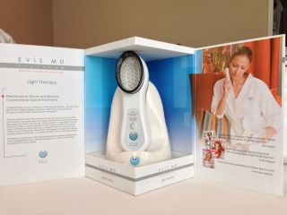 Evis MD Platinum Red Light Therapy Anti Aging Device NIB