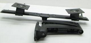Ergotron 45 231 200 Series Dual Monitor Arm Black (45231200)