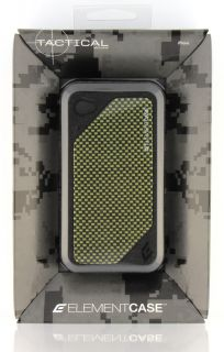 Element Case ion 4 Tactical Black with Kevlar Back Plate iPhone 4 4S
