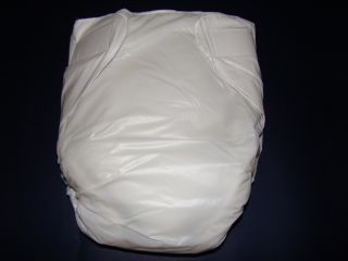 Adult baby Incontinence PVC Velcro diaper/nappy New #PDM01 1
