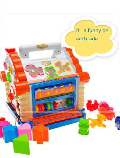 Funny Cabin Toy Cute Electronic Organ Educational Toy Electronic