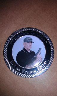 R Lee Ermey Glock Challenge Coin