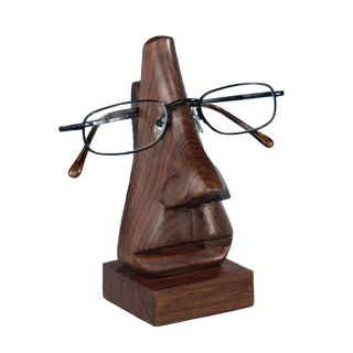 Wooden Face Eyeglass Holder India Wood Eyeglass Holder Fair Trade