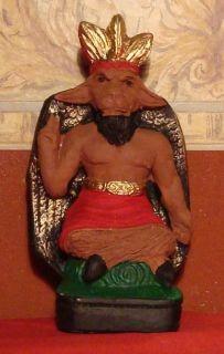 Eshu ESU Exu Belcebu Baphomet Statue Santeria Umbanda