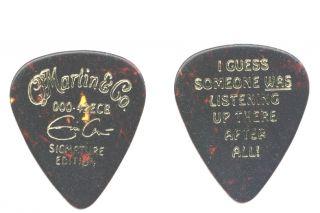 RARE 1995 000 42ECB C F Martin Eric Clapton Guitar Pick