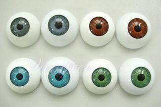 24pcs Plastic Fake Eyes Eyeballs for Mask Doll Bear Toy