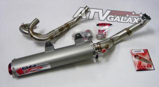 Big Gun EVO Full Exhaust Pipe Muffler Yamaha Raptor 700 06 07 08 09 10