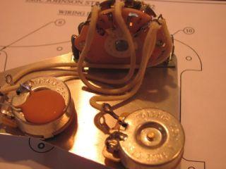 usa fender ® eric johnson stratocaster strat white blonde fender eric johnson stratocaster style wiring harness