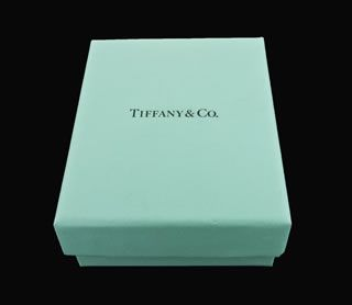 Tiffany Co Streamerica 18K White Gold and Diamond Ring