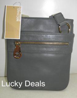 Michael Kors Jamesport Handbag Crossbody Messanger Gray