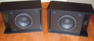 Pair Bose 201 series III Speakers In Very Good Condition Black