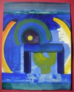 Erle Loran Abstract Design San Francisco California