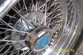 Zenith Wire Wheel 15x8 Reverse 72 Cross Spoke x Lace