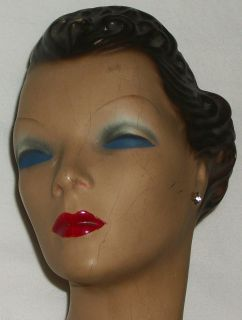 Rubberlite Composition Mannequin Counter Store Display Vintage Doll