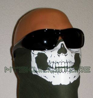 Skull Face Bandana Ghost Mask MW2 Biker Skeleton Neck Ski Headwrap