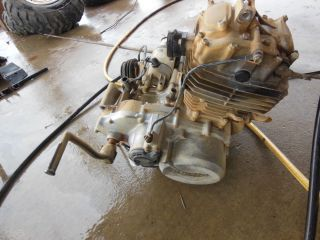 Honda TRX300 TRX 300 2WD Complete Motor Engine Cylinder Head Clutch