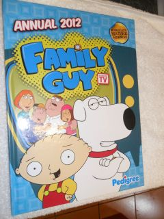 FAMILY GUY ANNUAL 2012 PETER GRIFFIN LOIS BRIAN STEWIE CHRIS MEG IN