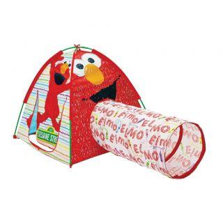 New Sesame Street Elmo Playtent Tents Kid Play Indoor or Outdoor