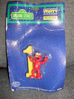 Sesame Street Elmo 1st Birthday Cake Decoration