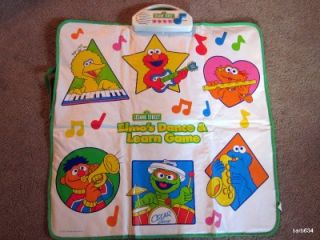 SESAME STREET ELMOS DANCE & LEARN GAME ELECTRONIC DANCE MAT