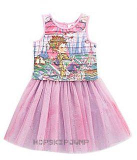 Fancy Nancy Top Layered Tulle Skirt 3T
